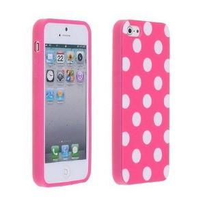 Pink Polka Dot iPhone 5 Case Just $1.86 (Reg $10) + Free Shipping