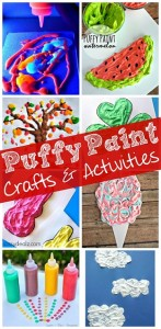 Easy Puffy Paint Crafts for Kids + $1,500 Cash Giveaway!