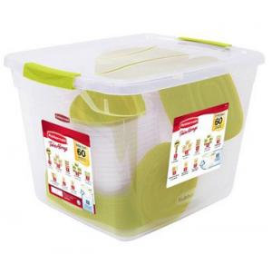 Walmart: Rubbermaid 60-Piece Plastic TakeAlongs Set Only $19.88