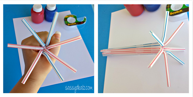 straw-fireworks-craft-for-kids