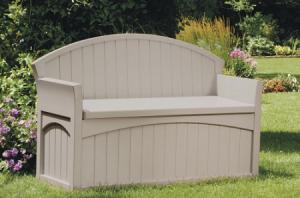 Suncast Patio Storage Bench Only $79.84 (Reg $140!)
