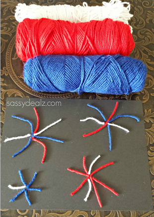 yarn-fireworks-4th-of-july-craft-