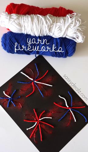 yarn-fireworks-4th-of-july-kids-craft