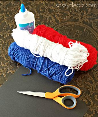 yarn-fireworks-craft