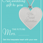 Things Remembered: Free Personalized Heart Keepsake