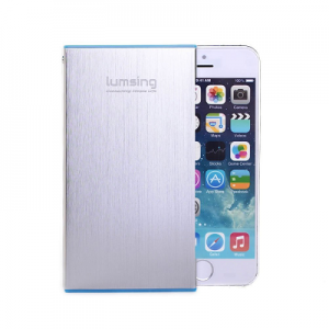 Lumsing Ultra Slim Portable Power Bank – 60% Off + My Review!