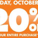 Big Lots Printable Coupon: Get 20% Off (Oct. 5th)