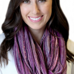 Shimmer Infinity Scarf for Winter on Sale